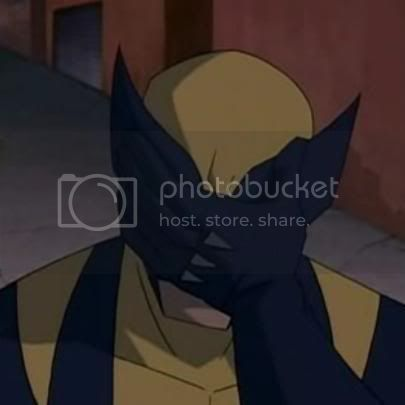 Wolverine facepalm 