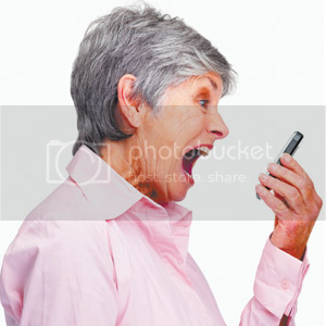 Mobile Phone Yelling